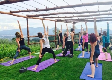 Yoga Holiday in Tuscany June 2017 with Savonn Wyland