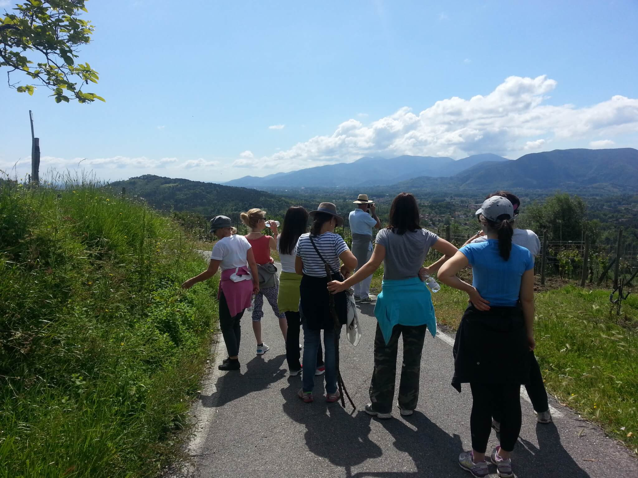 Yoga in Italy Excursion Hiking