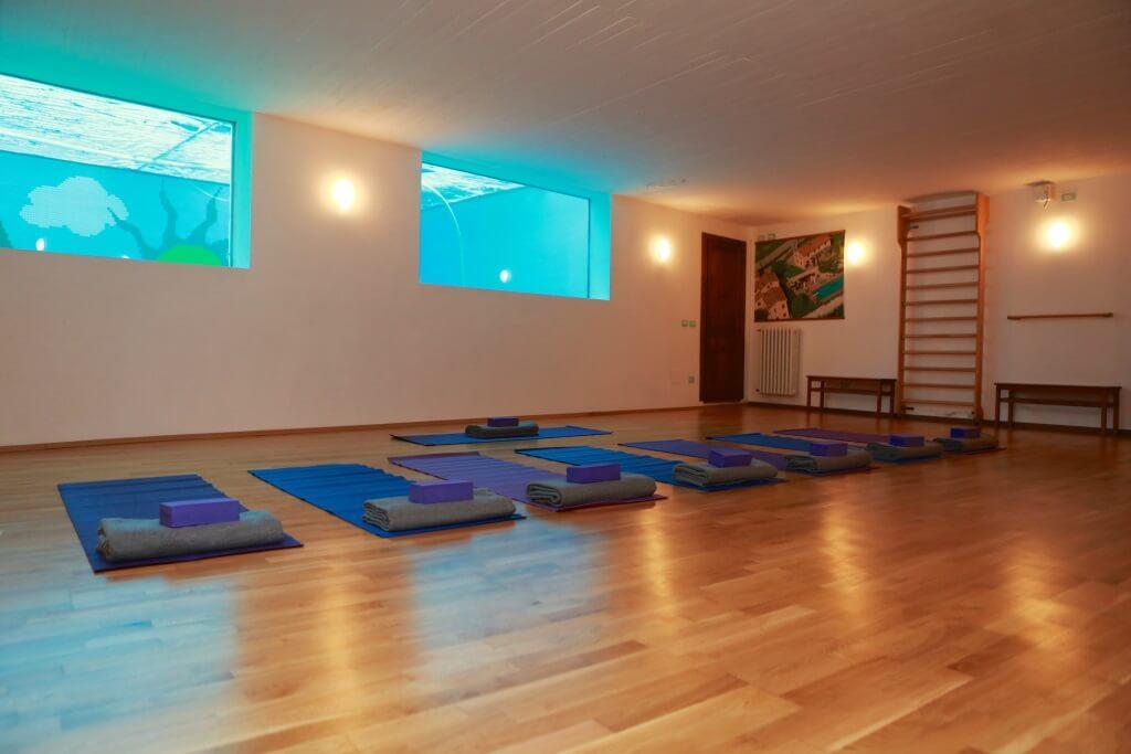Yoga in Italy Il Borghino Retreat Centre for hire