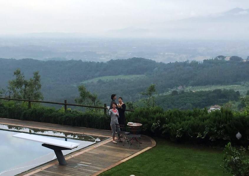 Yoga Holiday Italy Savonn Wyland June 9 - 16, 2018