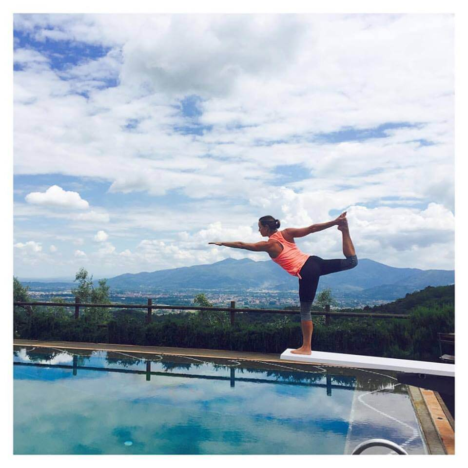 Julie Meek Yoga + Wellness retreat in Italy Retreat August 18 - 25, 2018