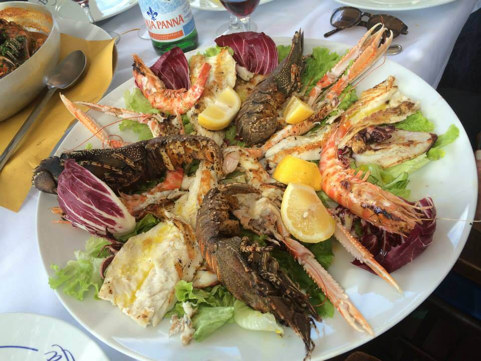 Ypga in Italy Excursion to Cinque Terre Seafood Lunch