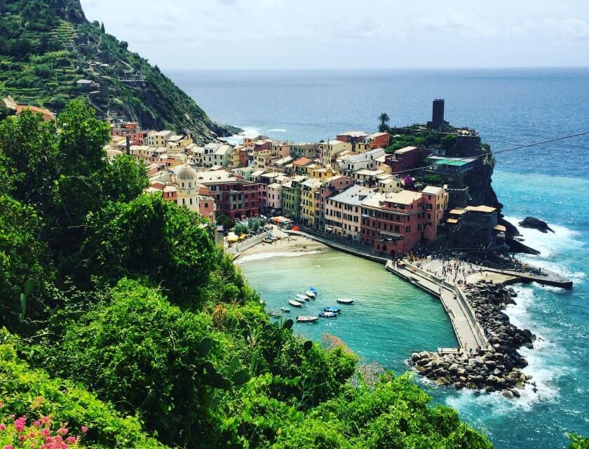 Yoga in Italy Cinque Terre Day Trip