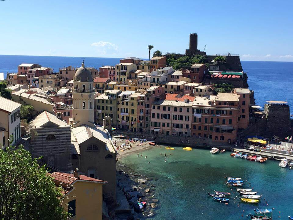 Yoga in Italy Excursion to the Cinque Terre and village of Vernazza