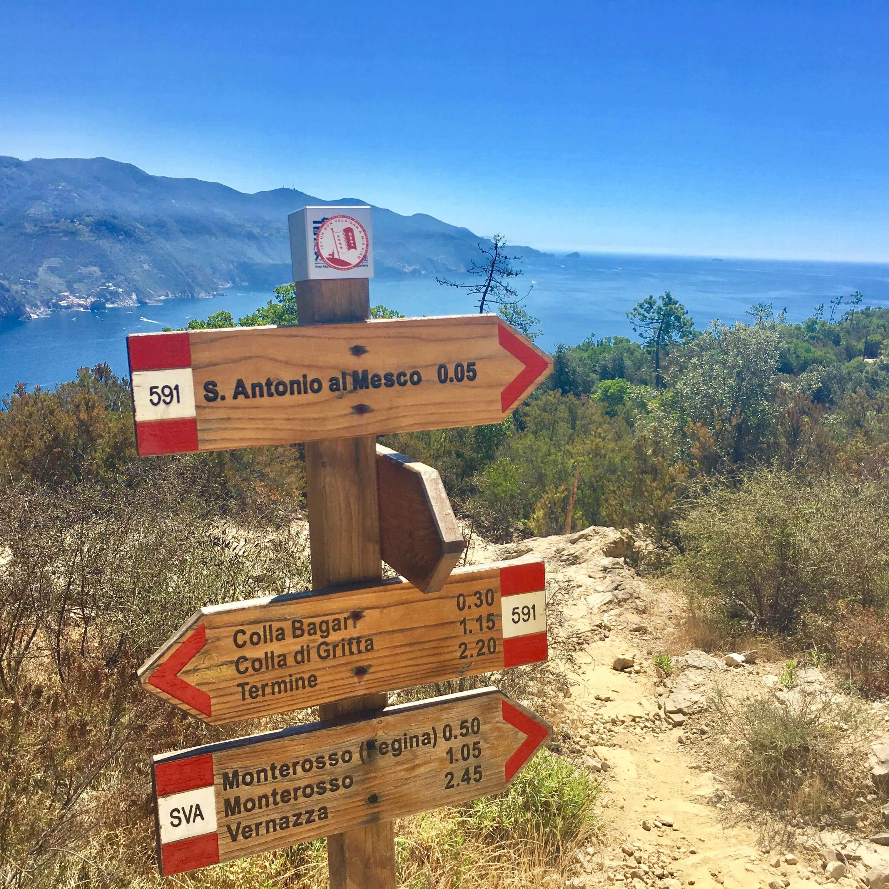 Excursion - Hiking Levanto to Monterosso