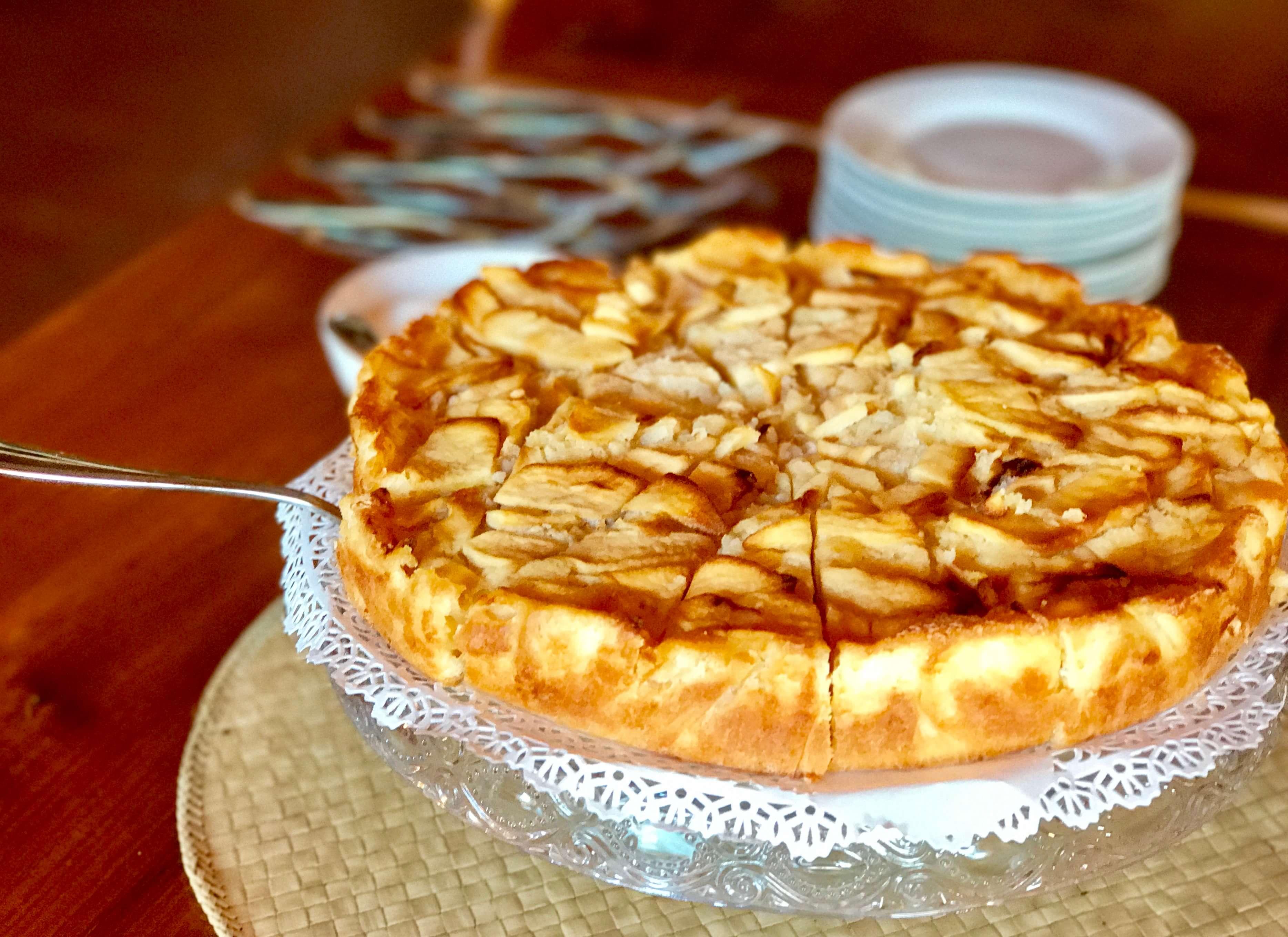 Food - Torta di Mela (Apple Cake)