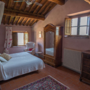 Il Borghino retreat centre room called I Nespoli - Rosa