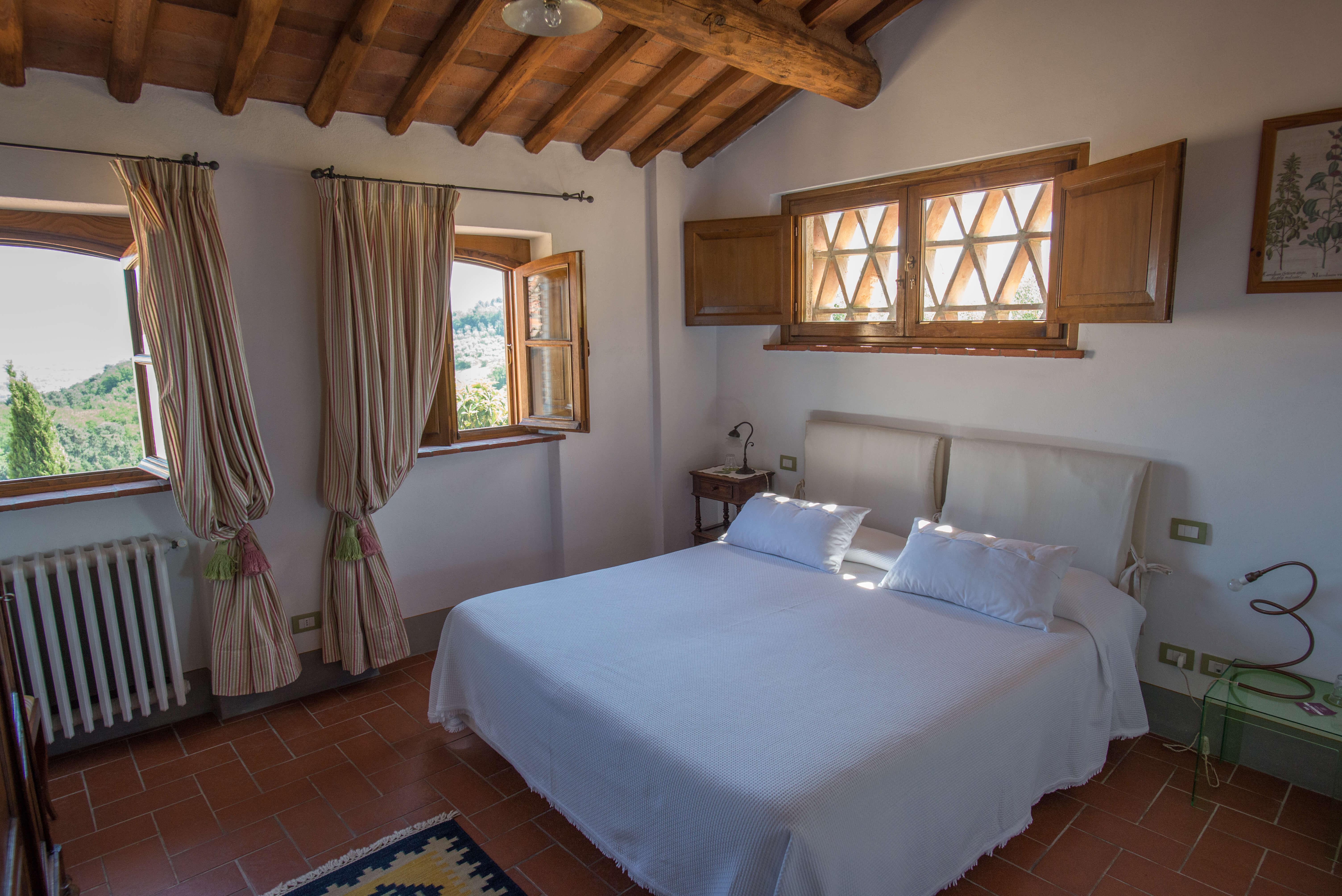 Il Borghino retreat centre - twin bed or double room in the house called Il Melograno - Verde