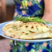 Pizza Night - freshly baked foccacia with rosemary