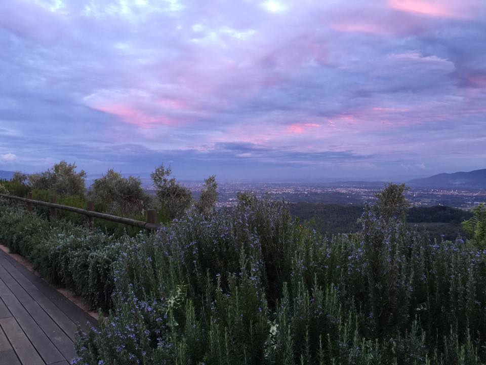 Sunset at Borghino