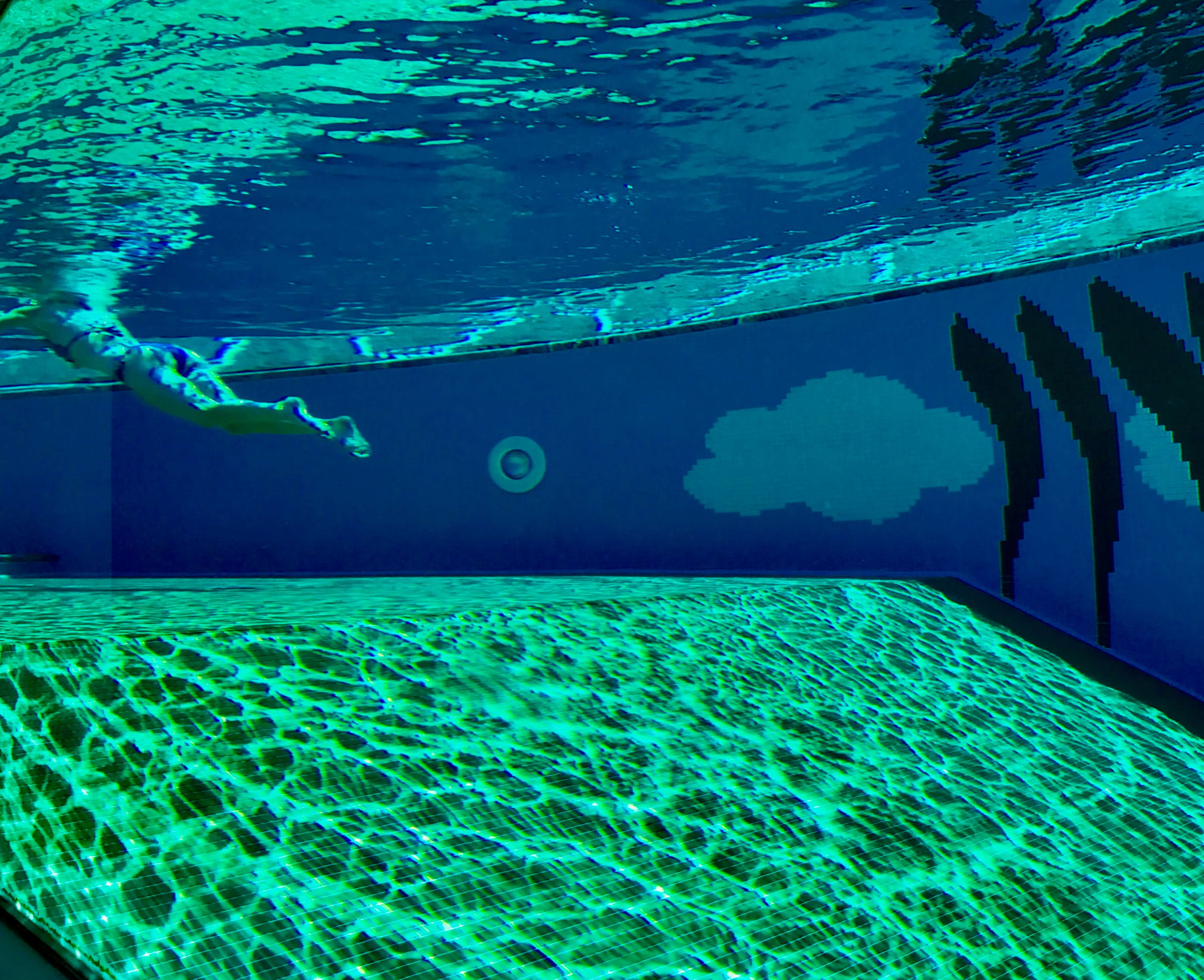 Yoga in Italy Retreat Centre with salt water swimming pool