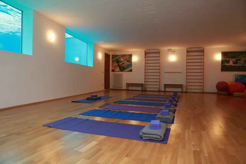 Indoor Yoga Room